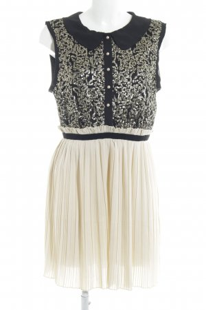 Darling Blouse Dress cream-black Paris-Look