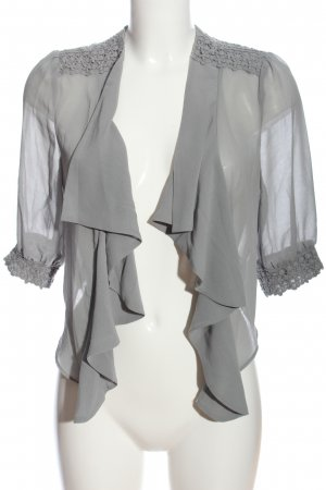 Darling Cape light grey casual look