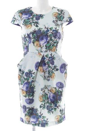 Darling Robe de cocktail motif de fleur élégant