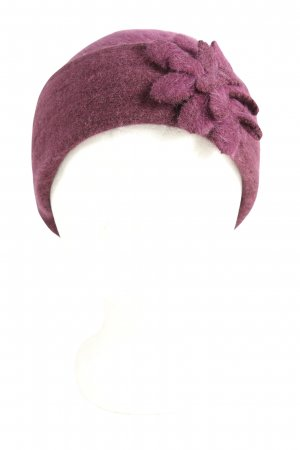 Darling Harbour Gorro lila look casual