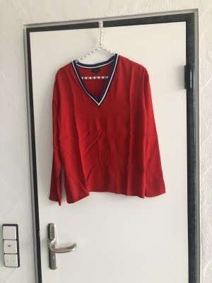 Darling Harbour Blusenshirt in rot