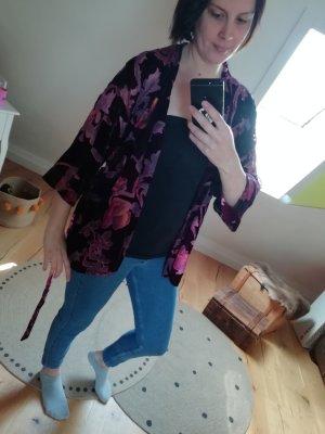 Darling Harbour Breuninger Kimono Jacke Samt Netz
