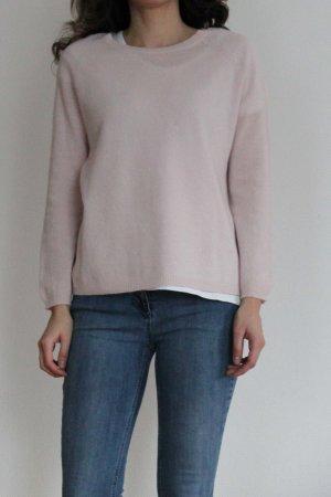 Darling Harbour Pullover in cashmere rosa chiaro