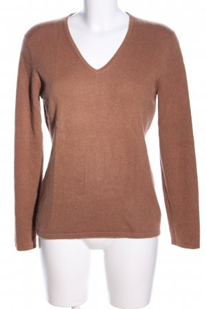 Darling Harbour Cashmerepullover braun Casual-Look