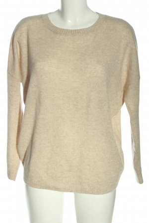 Darling Harbour Cashmerepullover creme meliert Casual-Look
