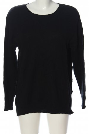 Darling Harbour Sudadera de cachemir negro look casual
