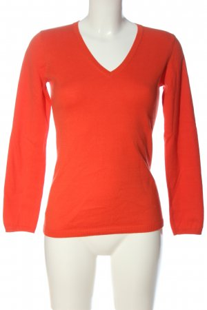 Darling Harbour Fine Knit Jumper red casual look