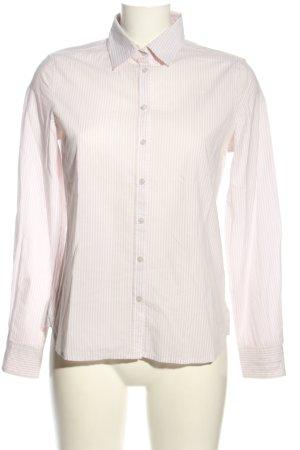 Darling Harbour Hemd-Bluse wollweiß-weiß Allover-Druck Casual-Look