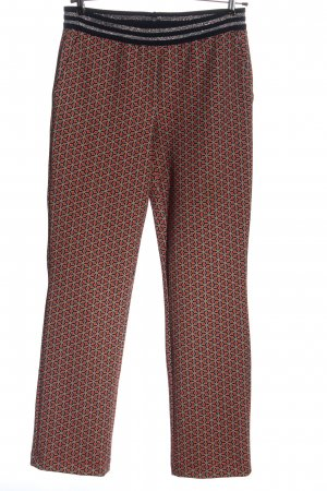 Darling Harbour High Waist Trousers allover print casual look