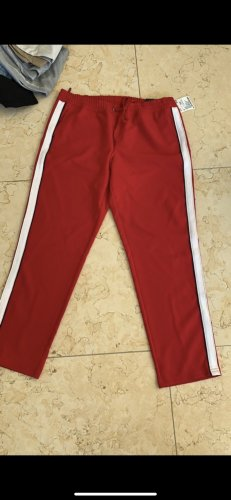 Darling Harbour Sweat Pants white-red