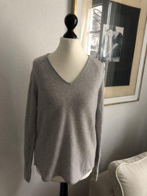 Darling Harbour Pullover in cashmere grigio chiaro