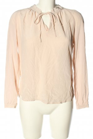 Darling Harbour Langarm-Bluse wollweiß Casual-Look