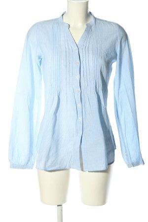 Darling Harbour Langarm-Bluse blau Elegant