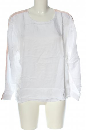 Darling Harbour Long Sleeve Blouse white casual look