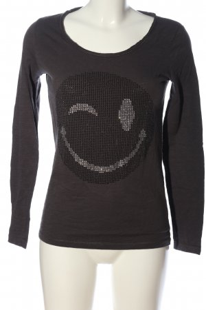 Darling Harbour Strickpullover hellgrau Casual-Look