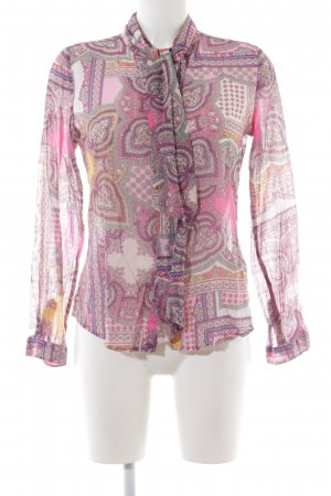 Darling Harbour Langarm-Bluse pink-lila Mustermix Casual-Look