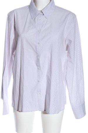 Darling Harbour Langarmhemd pink-weiß Streifenmuster Business-Look