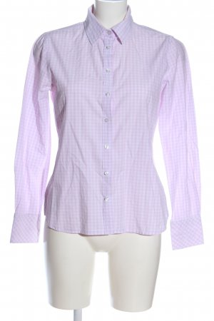 Darling Harbour Long Sleeve Shirt white-pink check pattern casual look
