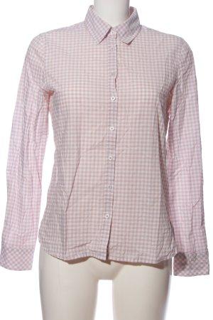 Darling Harbour Langarmhemd pink Allover-Druck Casual-Look