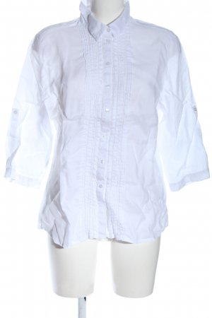 Darling Harbour Linen Blouse white casual look