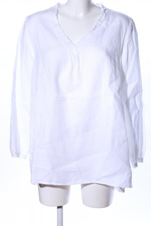 Darling Harbour Long Blouse white business style