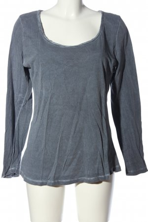 Darling Harbour Longsleeve blau Casual-Look