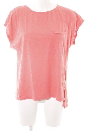 Darling Harbour Camicia oversize rosa puntinato stile professionale
