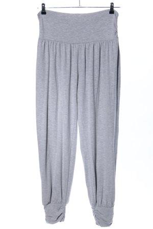 Darling Harbour Pantalone palazzo grigio chiaro puntinato stile atletico