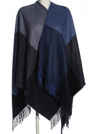 Darling Harbour Poncho nero-blu stile casual