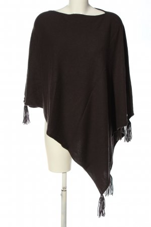 Darling Harbour Poncho braun Casual-Look