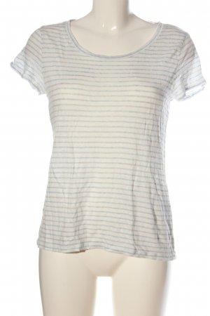 Darling Harbour Stripe Shirt natural white-blue striped pattern casual look