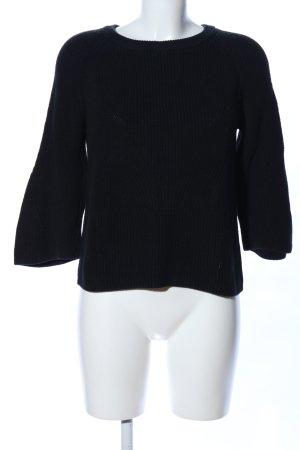 Darling Harbour Crewneck Sweater black casual look