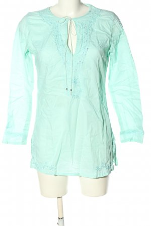 Darling Harbour Schlupf-Bluse türkis Casual-Look