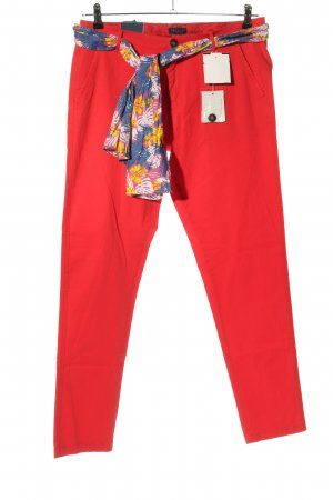 Darling Harbour Pantalone jersey rosso stile casual