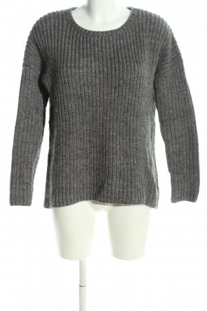 Darling Harbour Knitted Sweater light grey flecked casual look