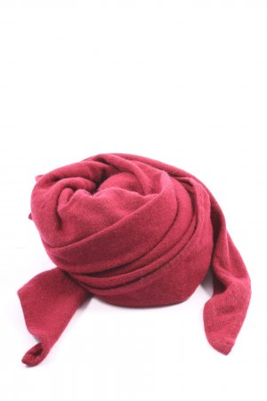 Darling Harbour Knitted Scarf dark red casual look