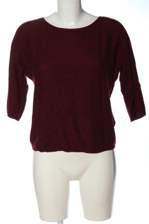 Darling Harbour Gebreid shirt rood casual uitstraling