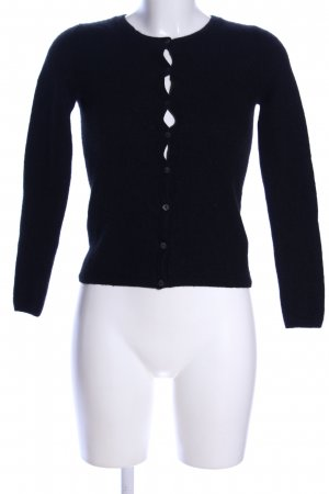Darling Harbour Knitted Vest black casual look