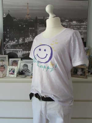 Darling Harbour * Süßes Sommer Shirt * zart flieder Smileyprint * XXL=42/44
