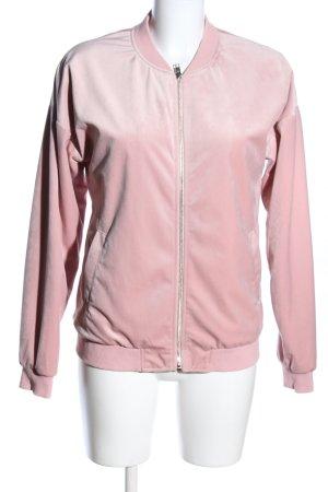 Darling Harbour Veste sweat rose style décontracté