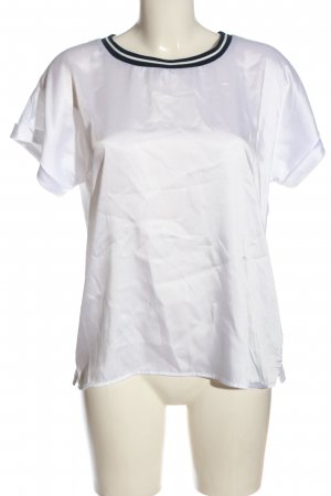 Darling Harbour T-shirt bianco-blu elegante