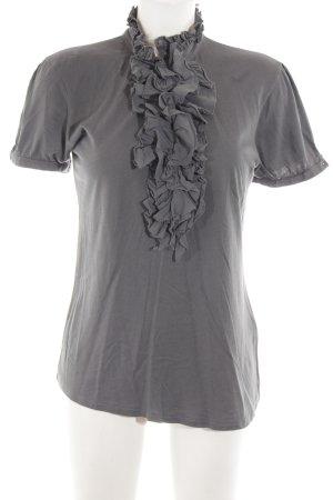 Darling Harbour V-Ausschnitt-Shirt hellgrau Casual-Look