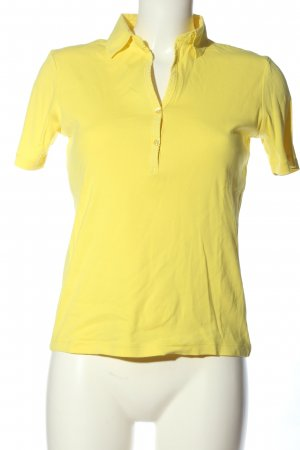 Darling Harbour V-Ausschnitt-Shirt blassgelb Casual-Look