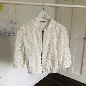 Darling Short Jacket white cotton