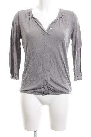 Darling Long Sleeve Blouse light grey casual look