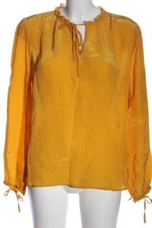 Darling Camicetta a maniche lunghe arancione chiaro stile casual