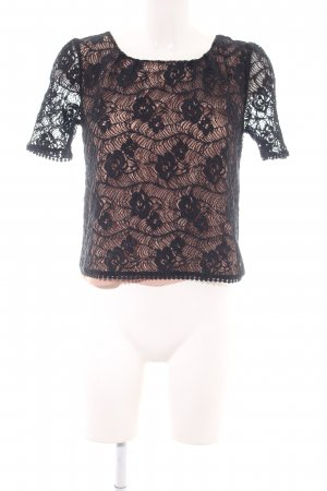 Darling Lace Blouse black-nude elegant