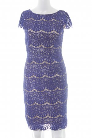 Darling Lace Dress cream-blue elegant