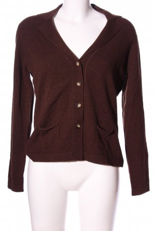 Darling Cardigan brown casual look
