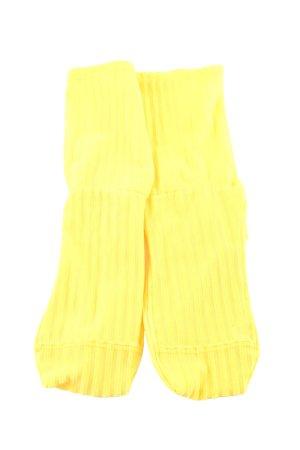 Darner Los Angeles Scaldamuscoli giallo pallido motivo a righe stile casual